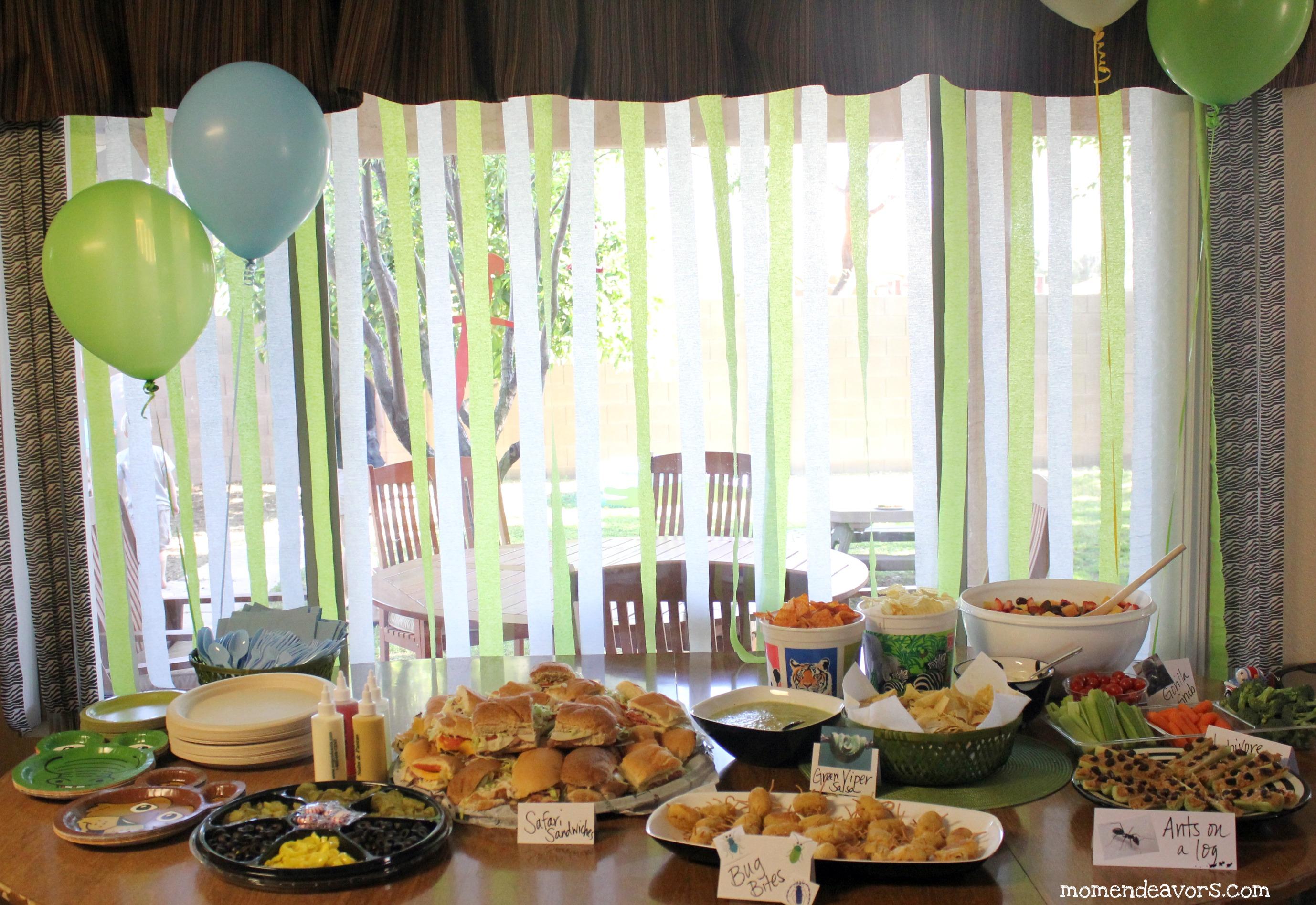 Wild Kratts Food Table