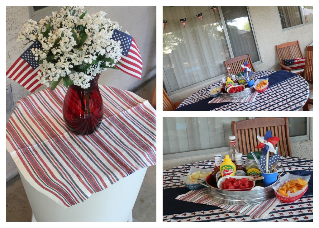 Getting patriotic with americana decor written at for Americana decoration