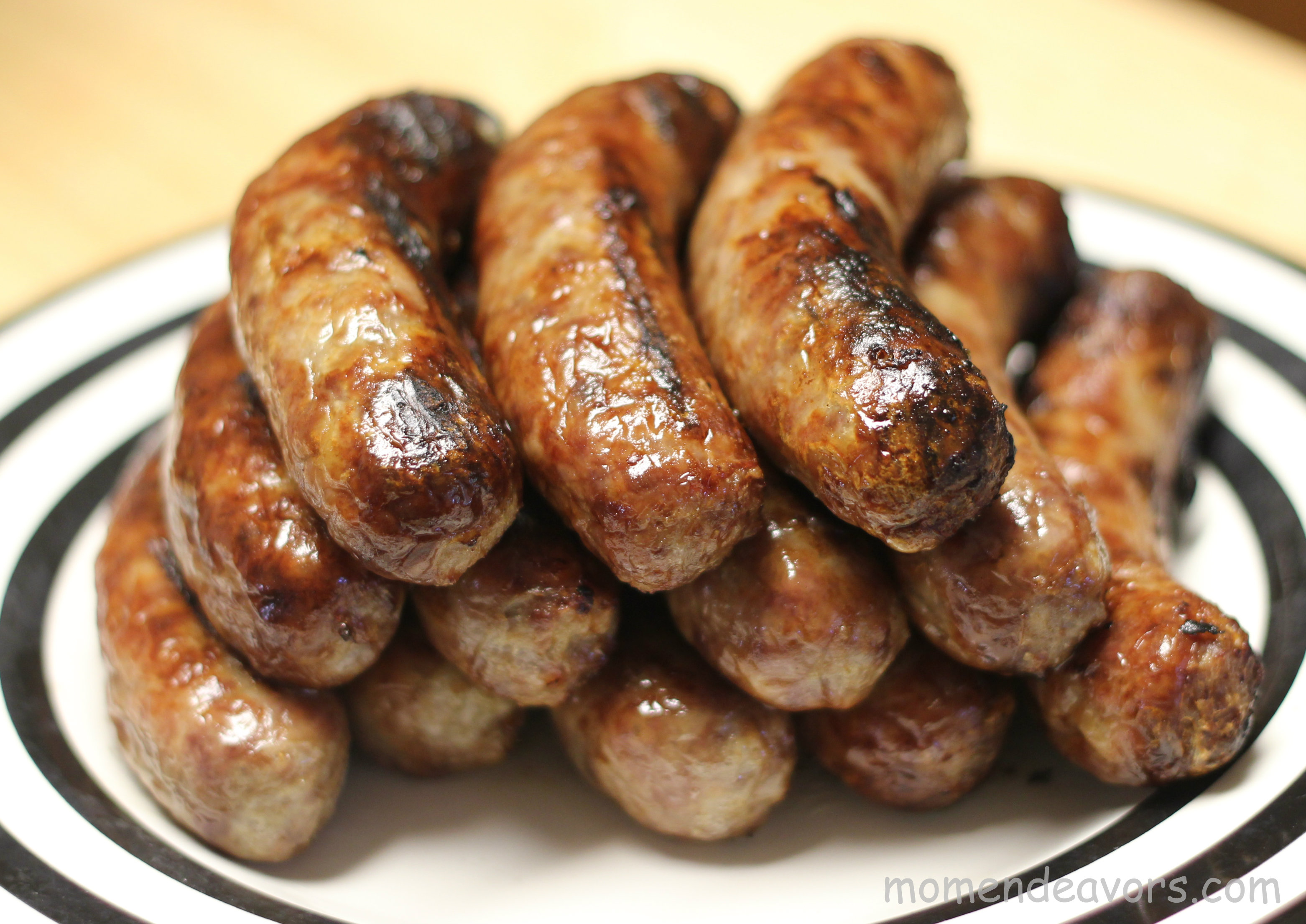 beer brats on grill