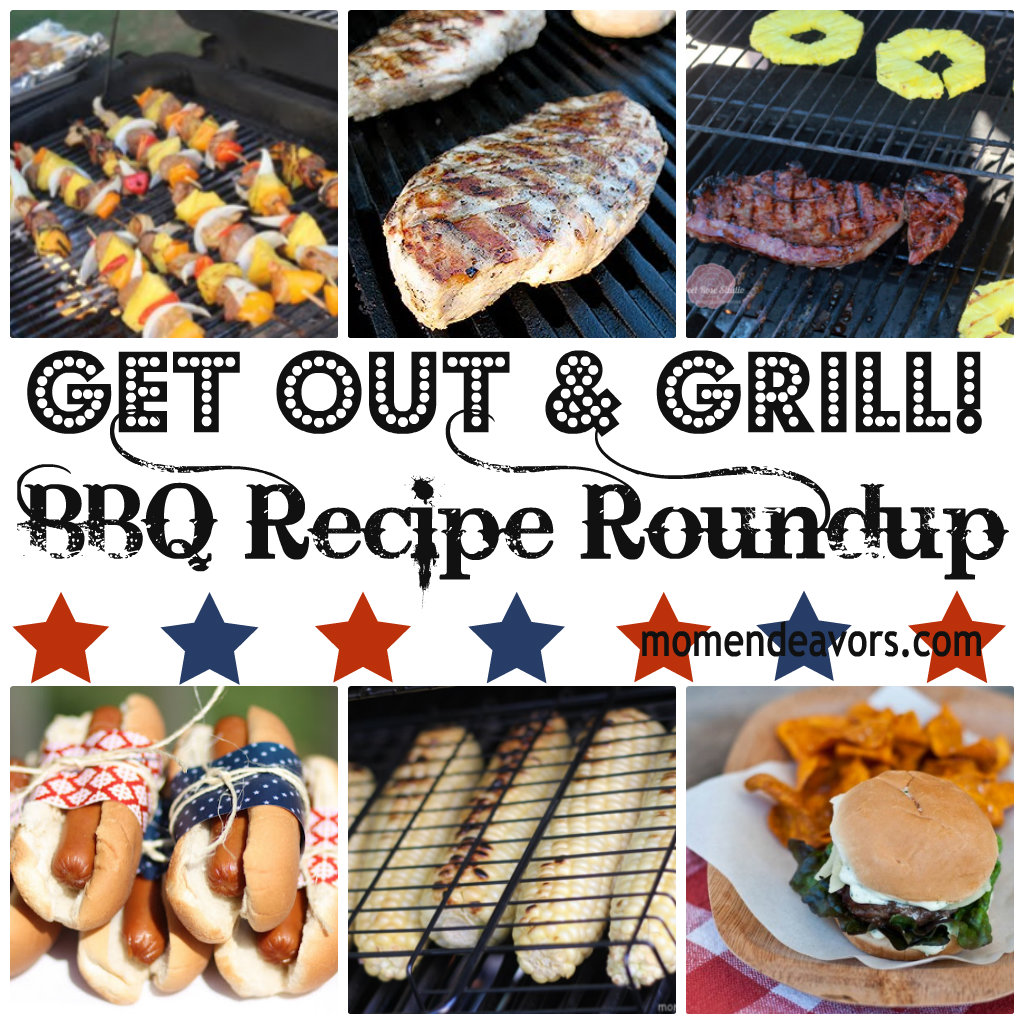 Grilling Recipes Collage