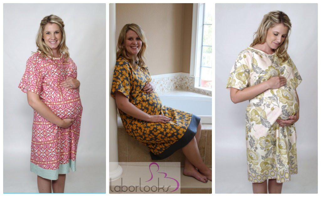 Getting Ready for Baby: LaborLooks Gown