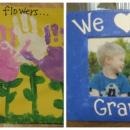 Easy Mother's Day Crafts for Kids to Make {Perfect for Grandmas}
