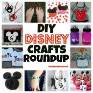 DIY Disney Crafts Roundup