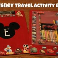 DIY Disney Craft: Kids' Travel Coloring/Activity Board