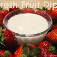 Easy Fresh Fruit Dip {+ National Dairy Month}