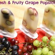 Refreshing Summer Snack: Fresh & Fruity Grape Popsicles