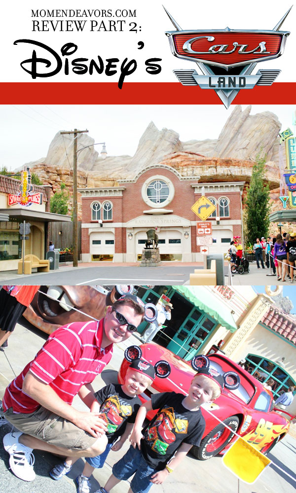 Cars Land Restaurants and Shops Review
