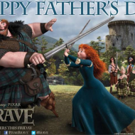 Happy Father's Day from Disney-Pixar's BRAVE