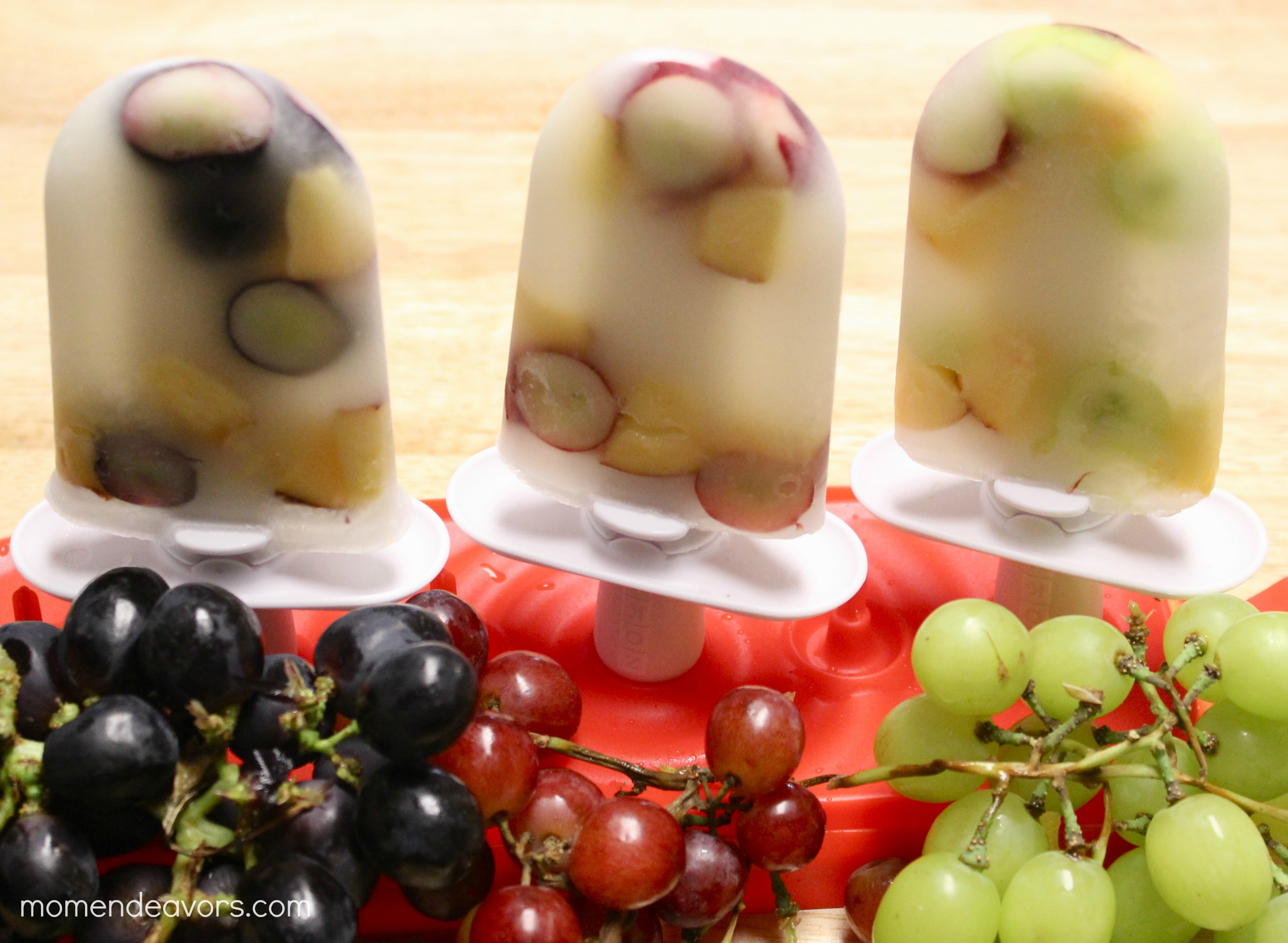 White Grape Popsicles