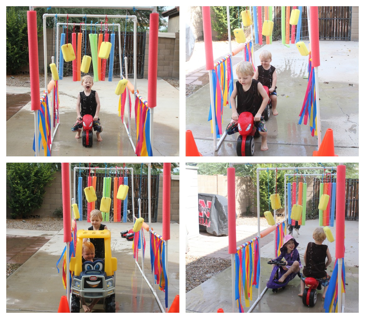 Diy kiddie car wash for more fun outdoor diy solutioingenieria