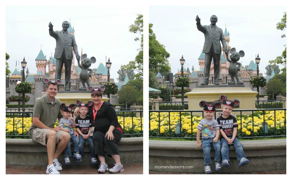 Disneyland Statue