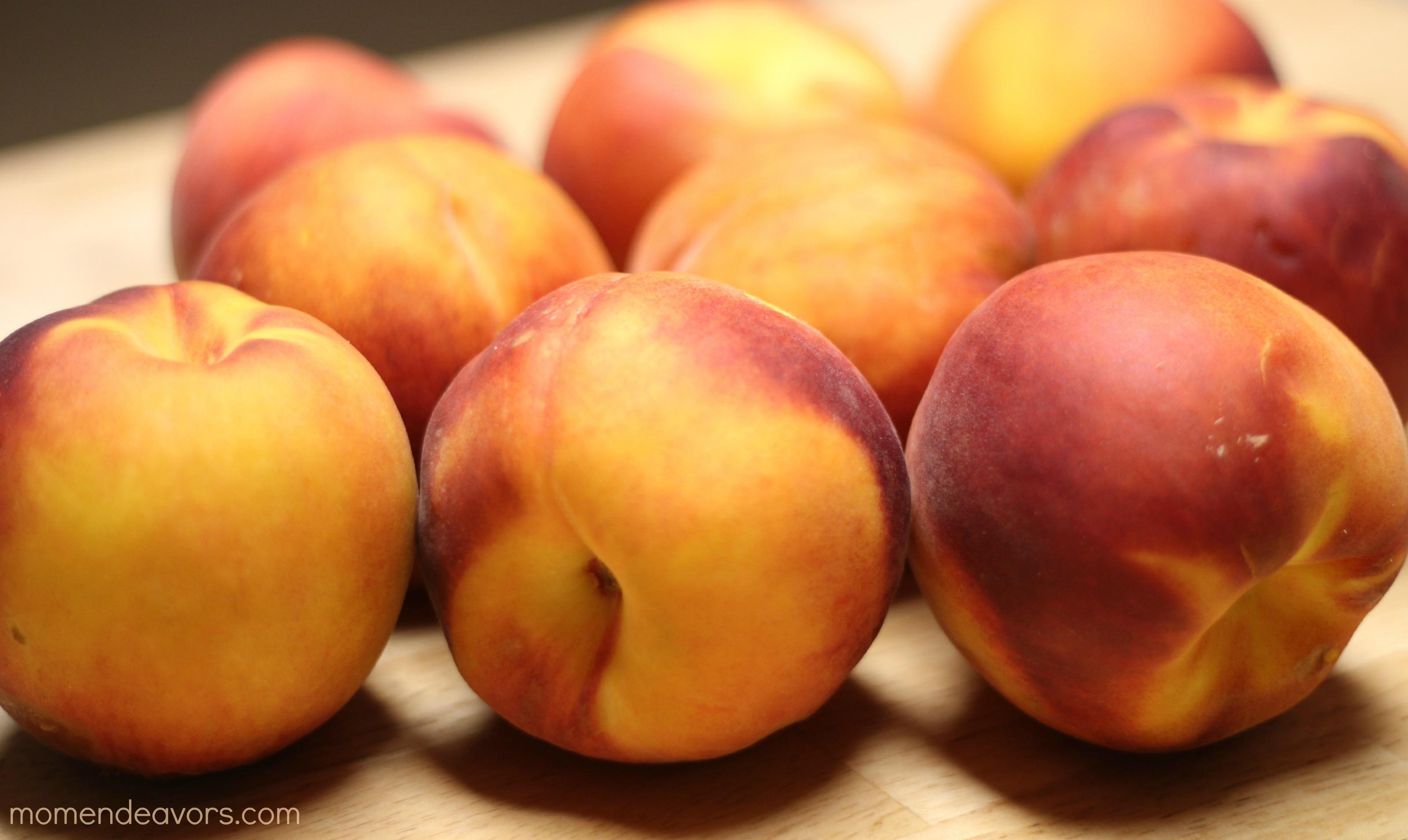 Homemade Peach Jam Sauce