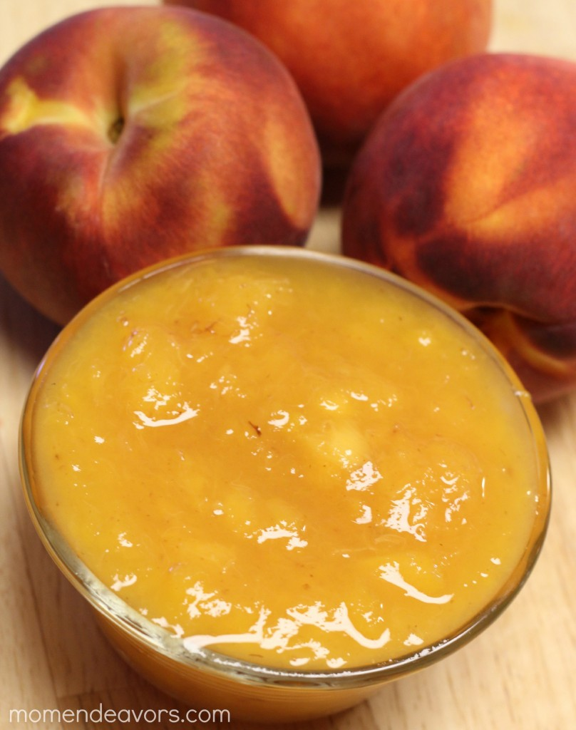 Homemade Peach Sauce