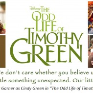 Disney's 'The Odd Life of Timothy Green' Movie Review #TimothyGreen