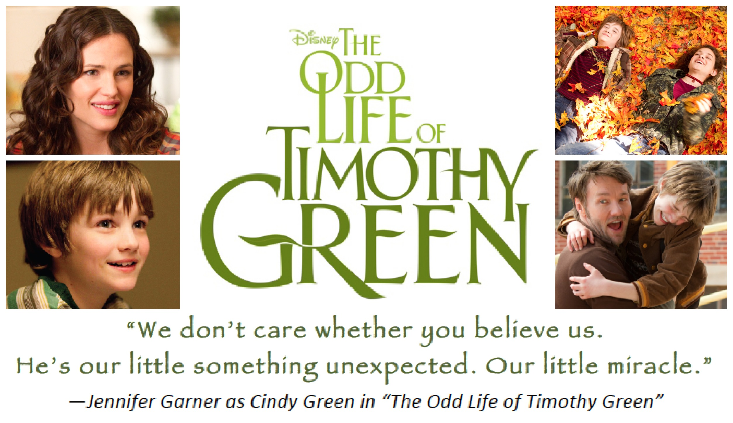 The Odd Life of Timothy Green 2012 movie