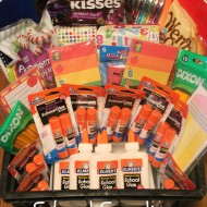 Kindergarten Teacher School Supplies Gift Box #BagItForward
