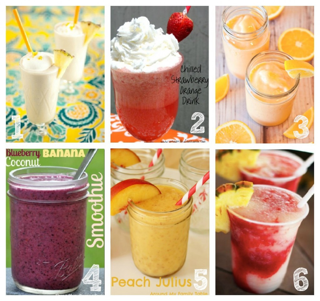 Peach Drink Recipes Non Alcoholic