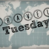 Travel Tuesday: Day & Night Light Musical Auto Mirror {Brica Review & Giveaway}