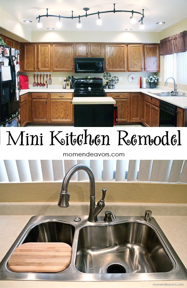 mini kitchen remodel