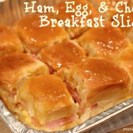 Gameday Breakfast Sliders {College Football Saturday Tailgate 2012}