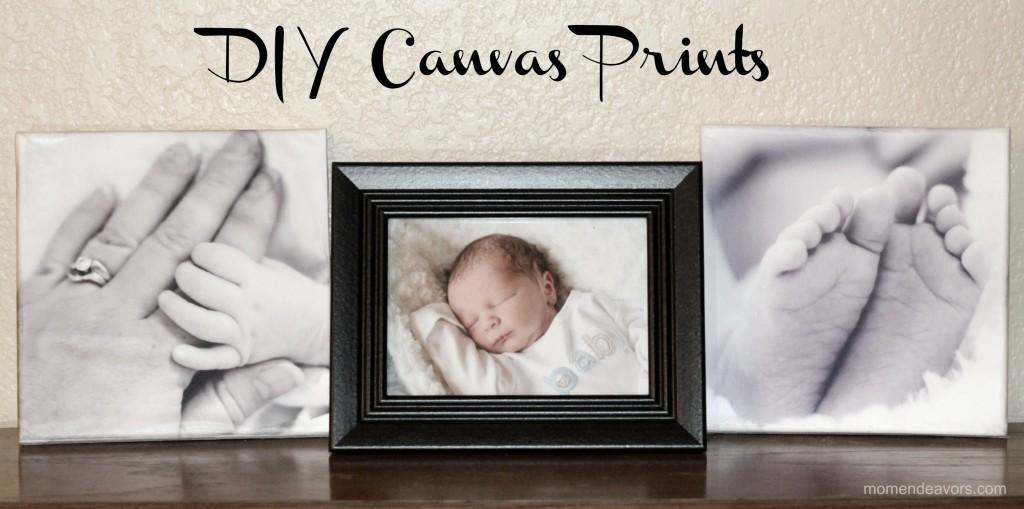 DIY Canvas Prints