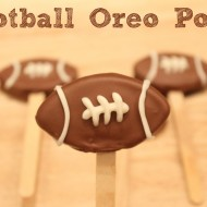 Football Oreo Pops {College Football Saturday Tailgate 2012}