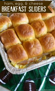 Game Day Breakfast Sliders