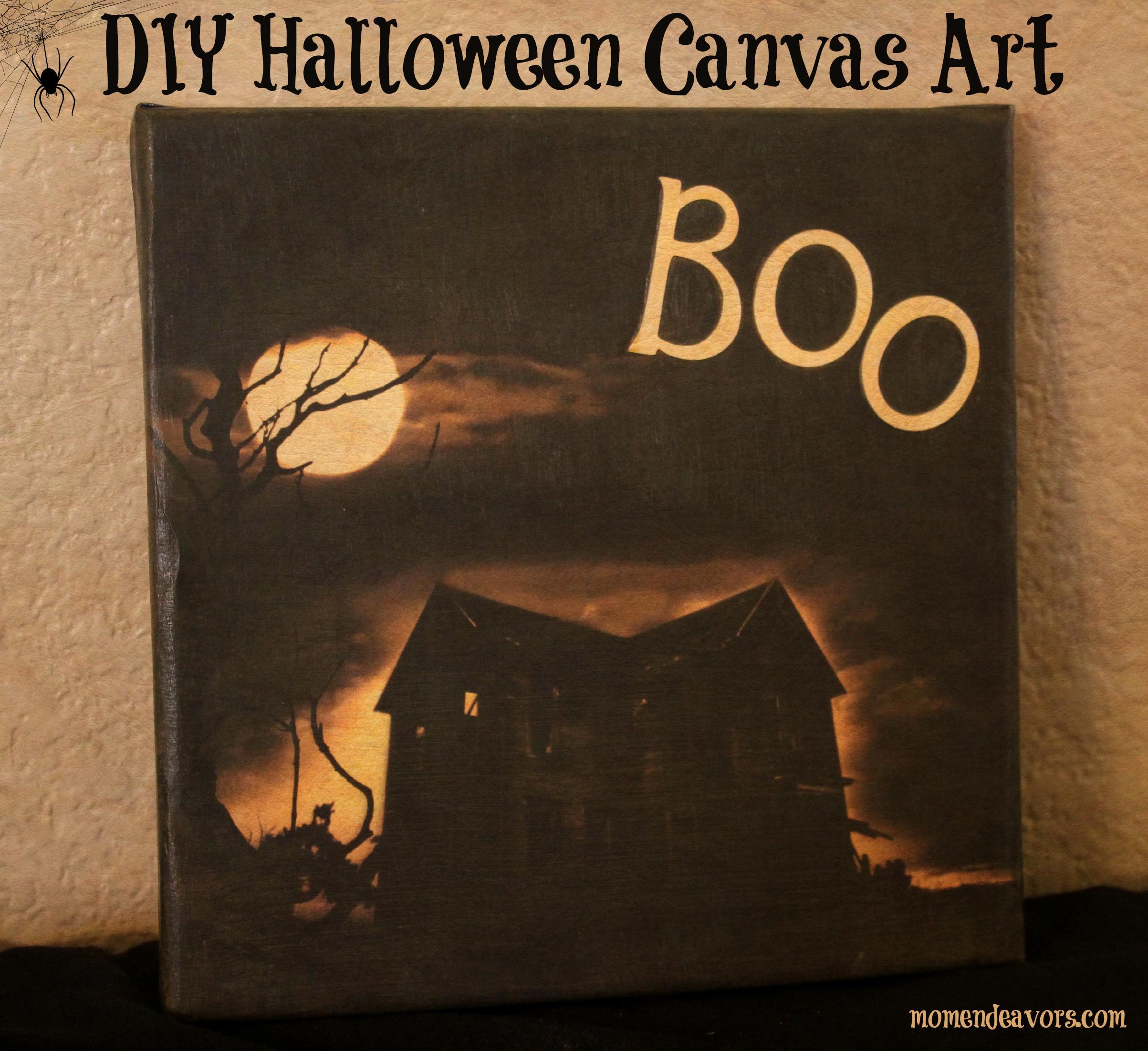 Halloween Canvas Art I
