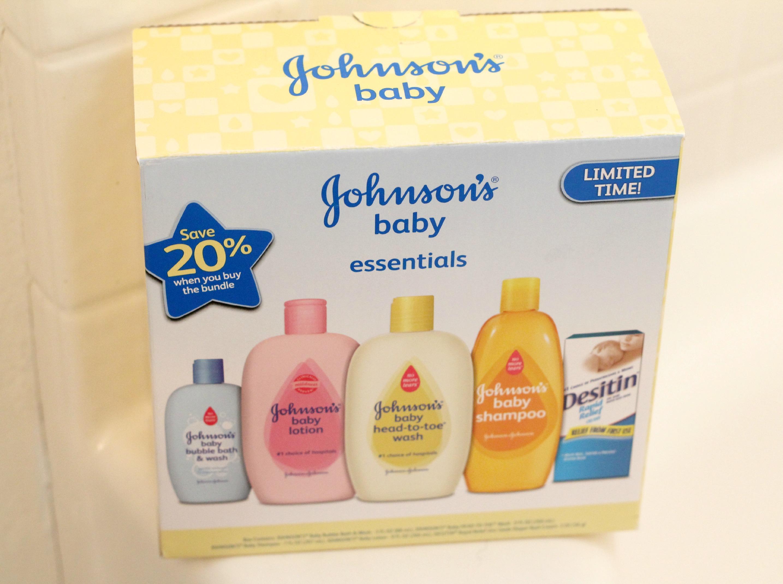 Enjoying Bath Time Johnson S Baby Essentials Giveaway