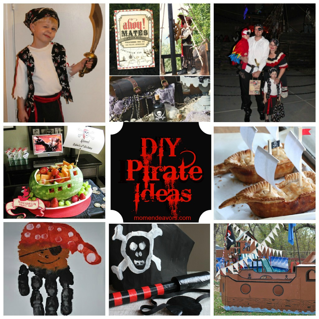 95 pirate party costume ideas zoomclick on the image have a diy pirate costumes crafts treats solutioingenieria Image collections