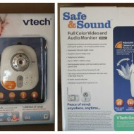 Vtech Safe & Sound Full Color Video & Audio Baby Monitor {Review}