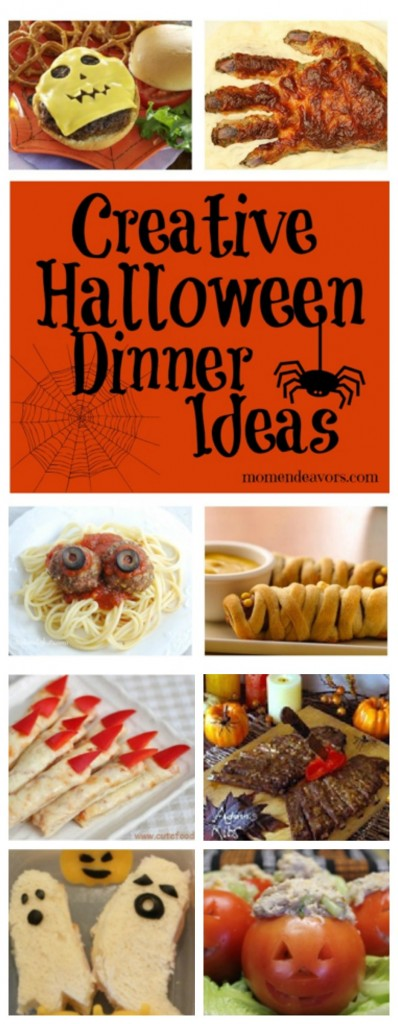 15+ Creative Halloween Dinner Ideas