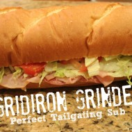 Gridiron Grinder – The Perfect Tailgating Sub! {College Football Saturday Tailgate}