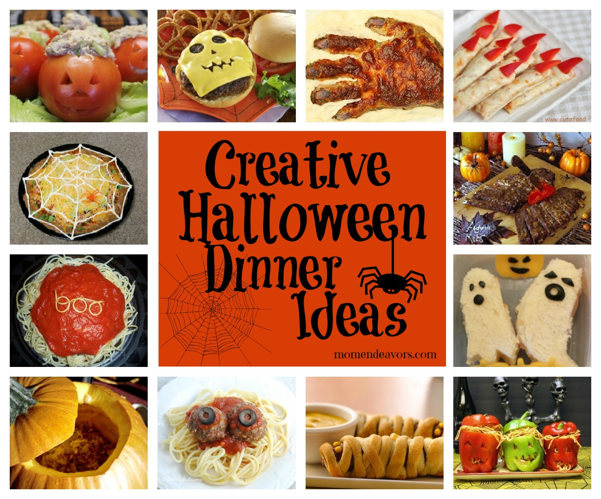 15 creative halloween dinner ideas halloween dinner ideas - Gory Halloween Food Ideas