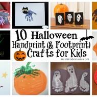 10 Halloween Handprint Crafts for Kids {Roundup}