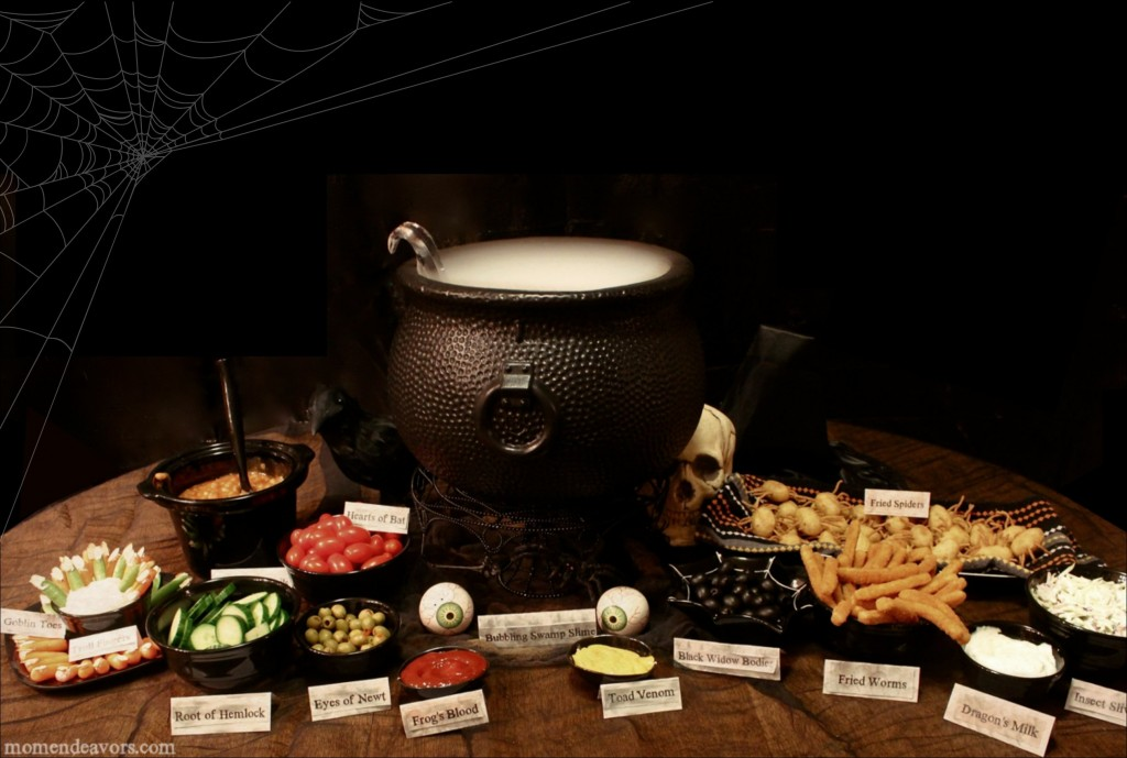 Witch S Potion Buffet Dinner Amp Halloween Pumpkin Carving Party