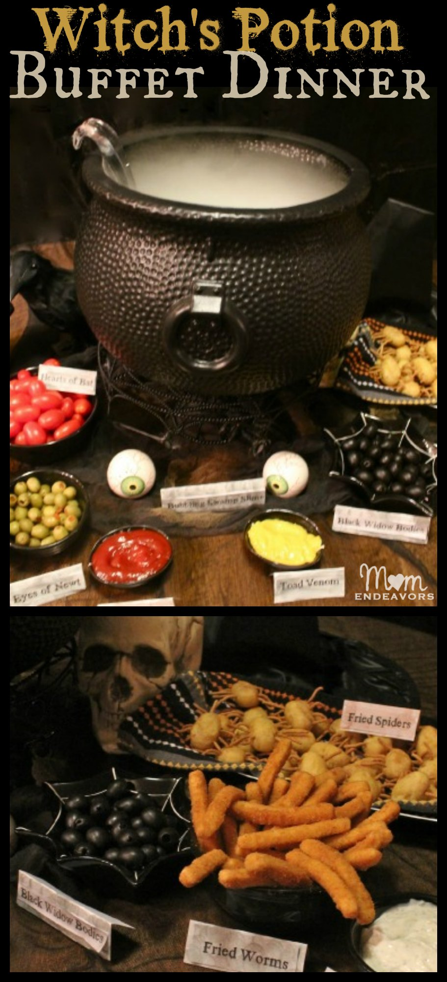Witch's Potion Halloween Buffet Dinner