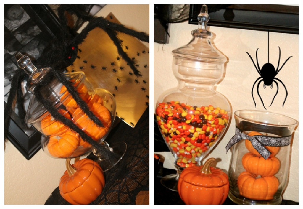 halloween candy apothecary jar candy jar