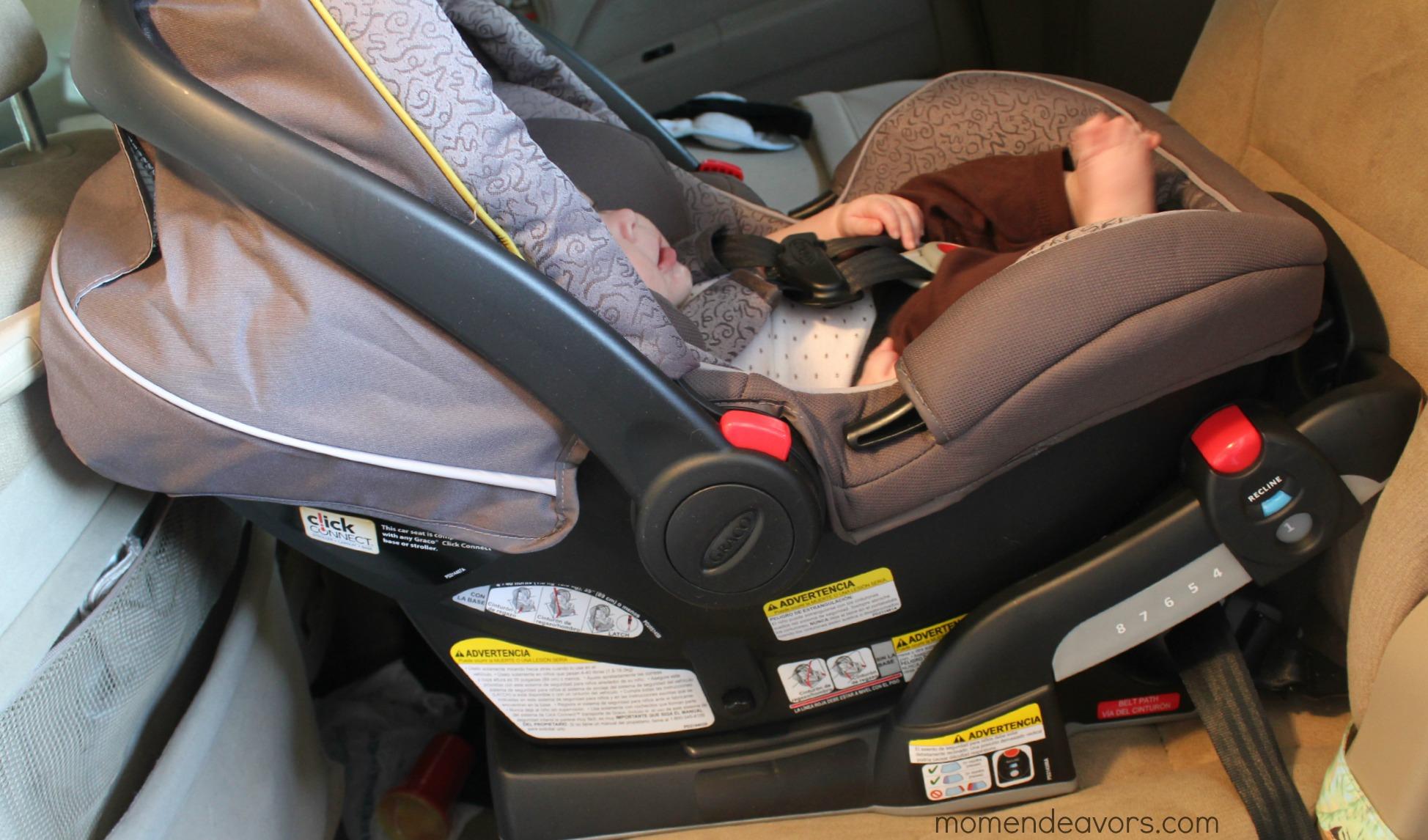 Graco Snugride Click Connect 40 Car Seat Review