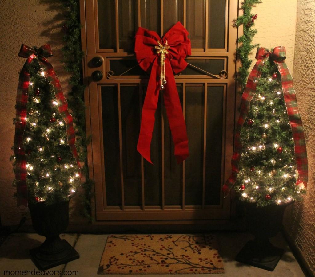 Diy Decorative Topiary Christmas Trees