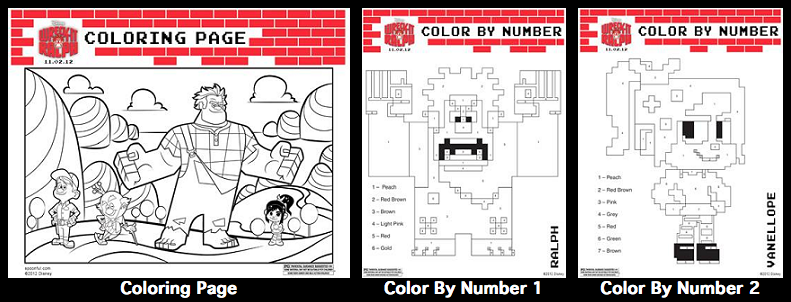 Disney's Wreck-It Ralph {Review & Printable Activities For
