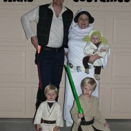 The Force was with us! {Halloween 2012 Recap}