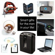 Fellowes 63Cb shredder & other smart gifts for guys! {Giveaway}