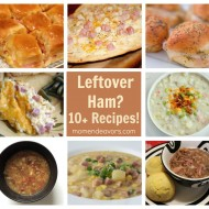 What to do with the leftover Christmas ham? {10+ recipe ideas using ham}