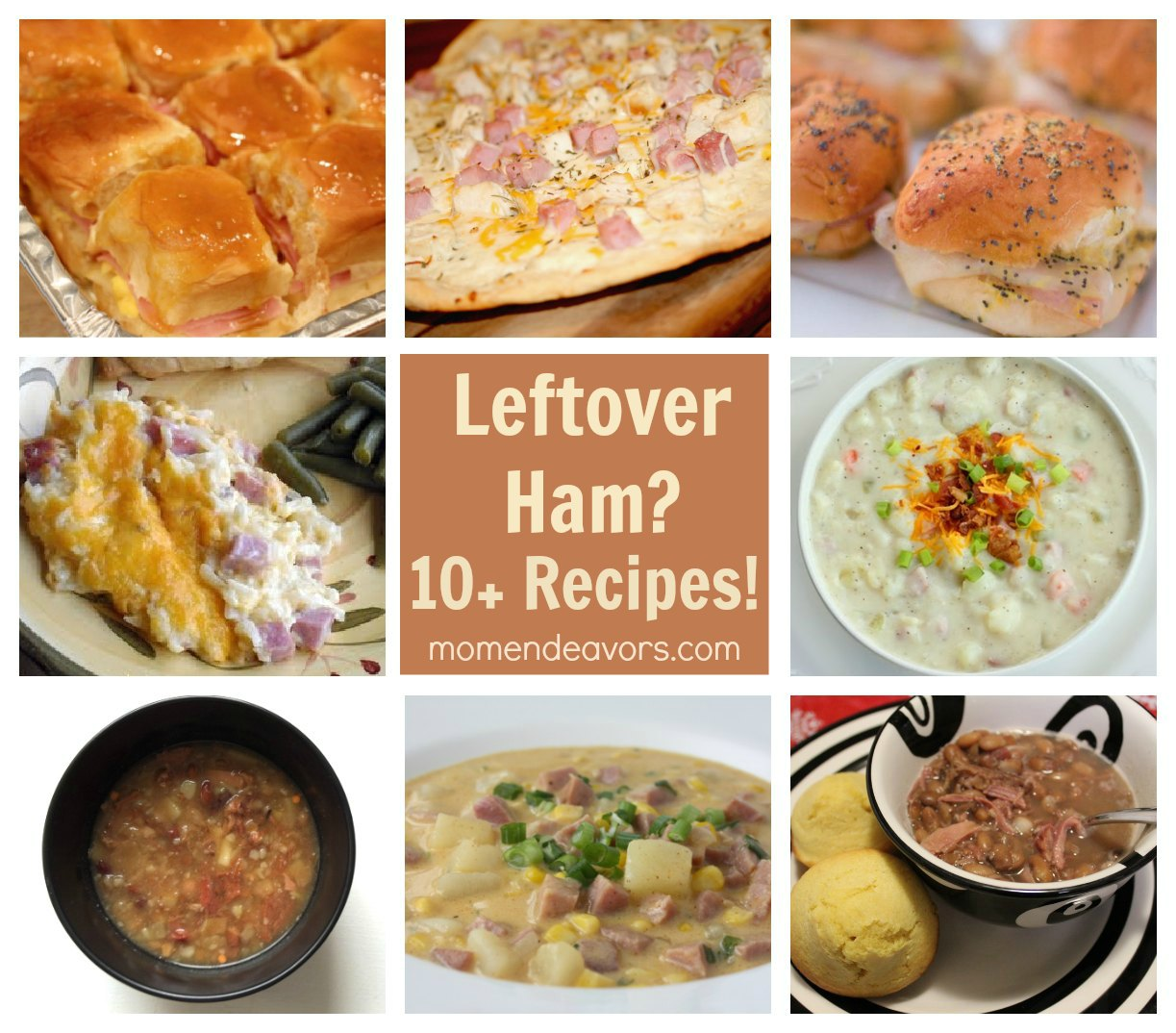 Leftover ham recipes easy