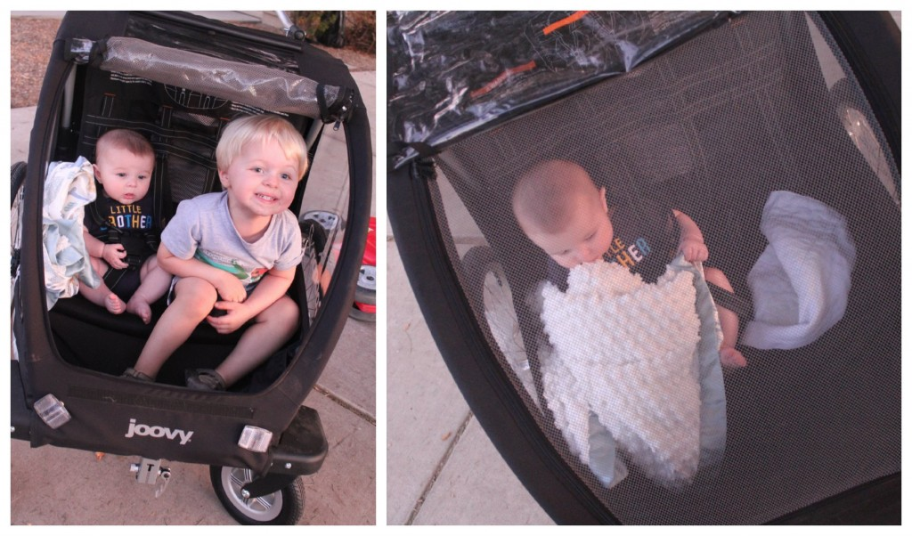 Joovy Cocoon X2 Review Double Stroller Jogger Bicycle