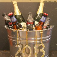 New Year's Party Drink Bucket (& Lowe's Gift Card Giveaway) #LowesCreator