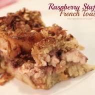 Raspberry Stuffed French Toast