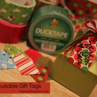 DIY Reusable Gift Tags with Holiday Duck Tape®!