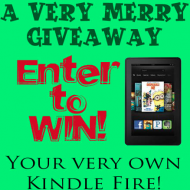 A Very, Merry Kindle Fire GIVEAWAY!
